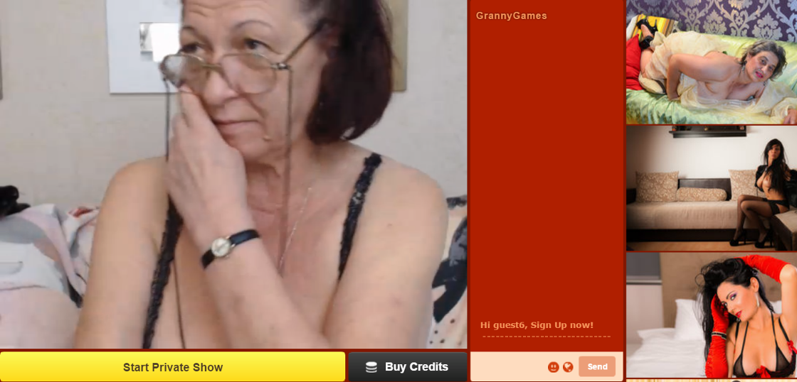 mature cam chat