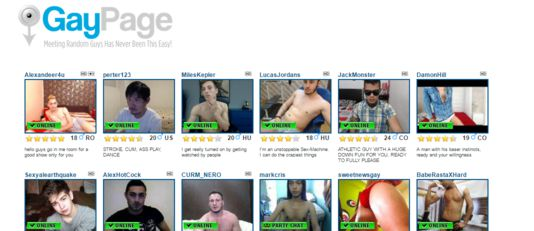 free gay chatroulette site reviewed