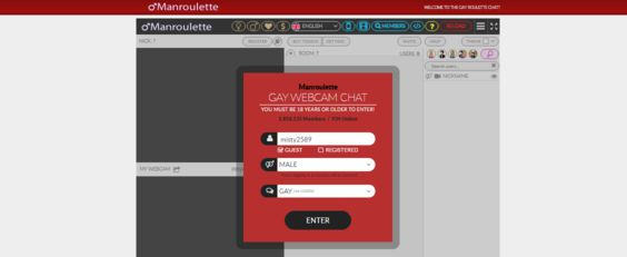 gay chat roulette rating