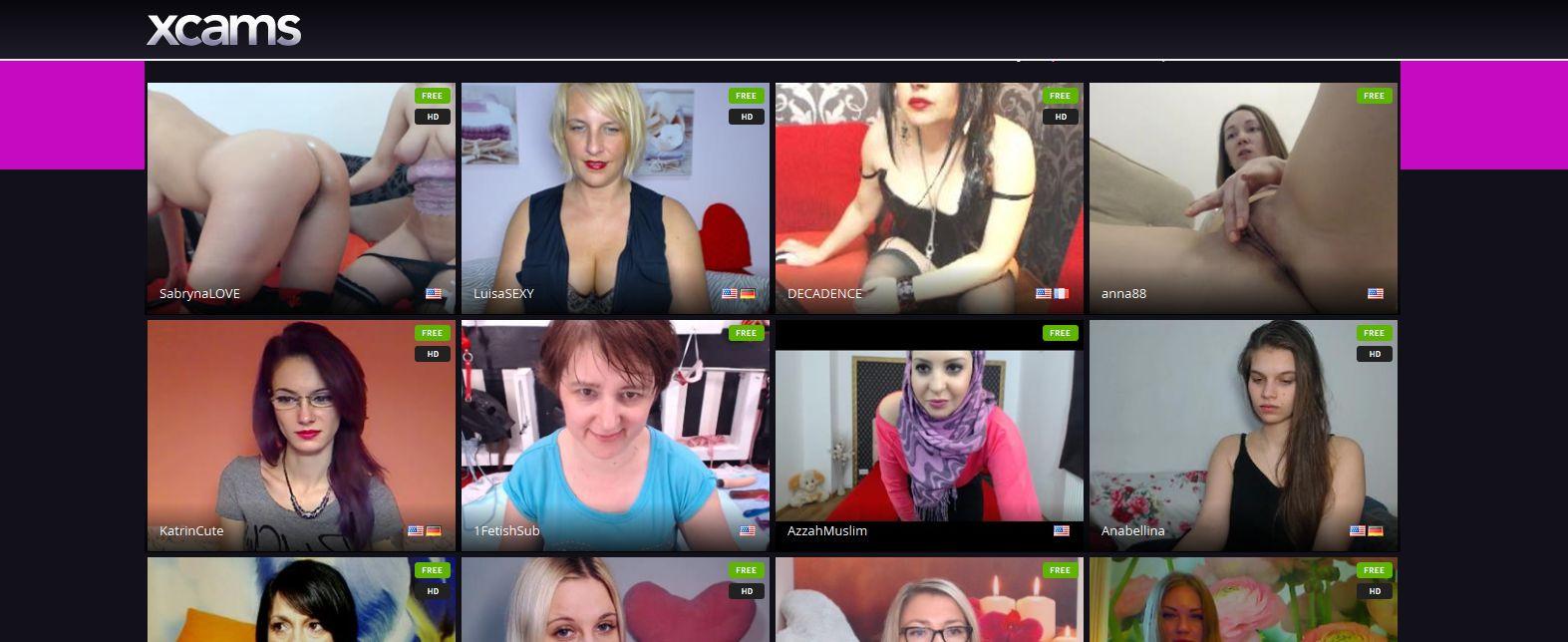 XCams.com live cams